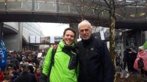 70 000 personnes ont à nouveau marché pour le climat à Bruxelles ce 27 janvier