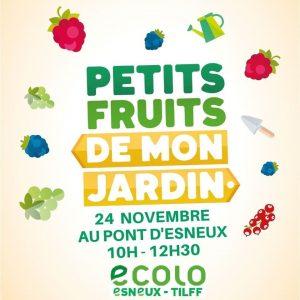 Distribution de plants d'arbustes à petits fruits – Dimanche 24 novembre de 10h à 12h30