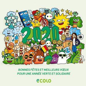 Meilleurs vœux pour une année 2020 verte et solidaire !