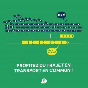 Réinvestir dans les transports en commun pour des déplacements efficaces !
