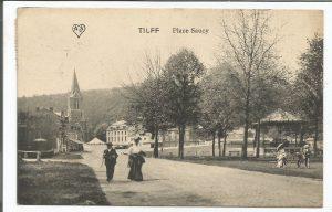 Quels aménagements pour la Place du Saucy à Tilff? Ecolo rappelle sa position